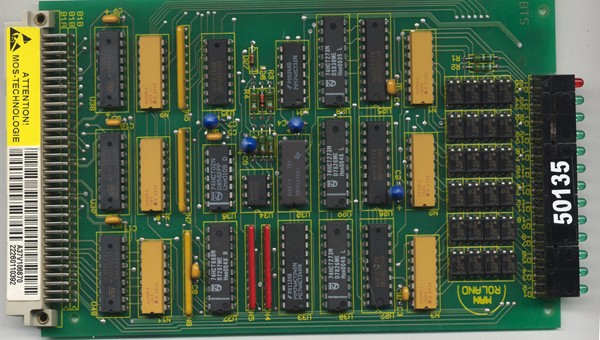 OUTPUT CARD(MRO) By MAN Roland Repair at Synchronics Electronics Pvt
