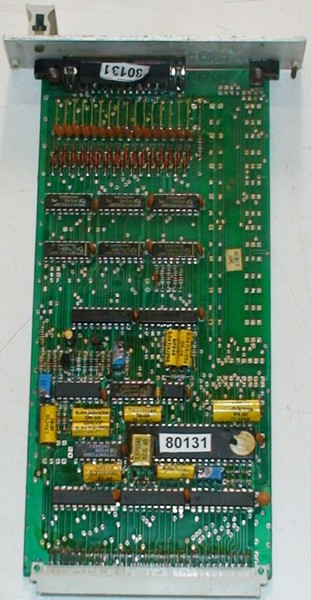 Analog to Digital  Converter Card