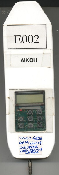 E002 ALKOH MAKE Force Gauge
