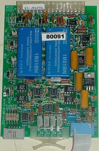 Thermocouple Input Card : Dual thermocouple input card tcic by entronic controls