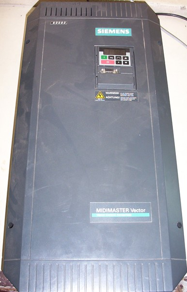midimaster vector sensorless 6se3223 0dh40 by siemens repair at rh synchronics co in Force Vectors siemens midimaster vector user manual