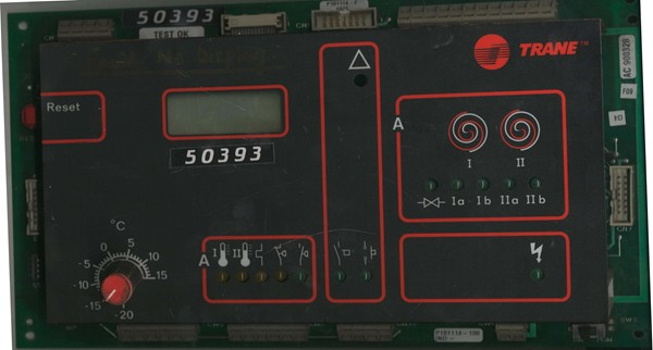 Main Display Control Card of WH-II EXT