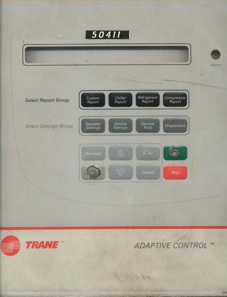 TRANE CHILLER MAIN CARD WITH DISPLAY TOUCH BOARD