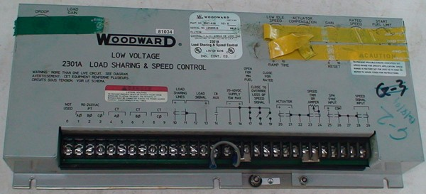 Load Sharing & speed control 2301