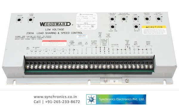 Low Voltage 2301 Load Sharing & Speed control