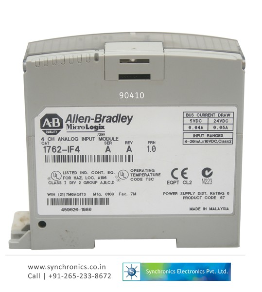 3667 module 1762 if4 by allen bradley repair at synchronics electronics 1762 if4 wiring diagram at virtualis.co