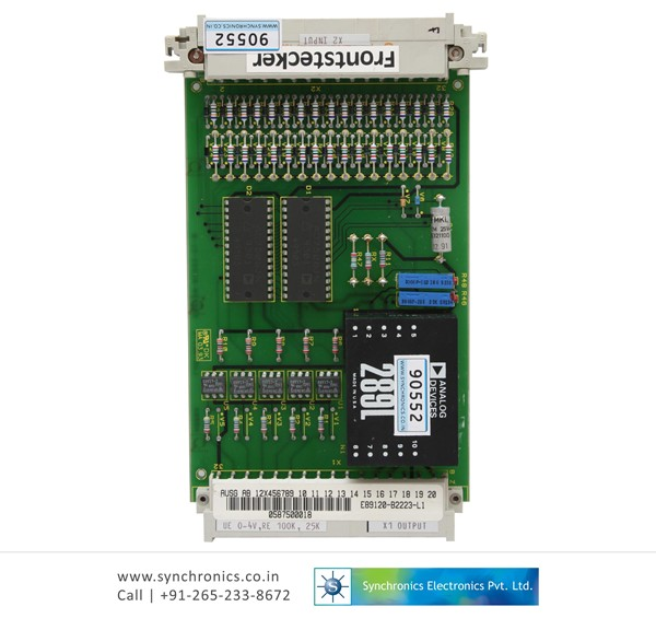 MULTIPLEXER CARD FOR VOLTAGE MONITORING E89120-B22