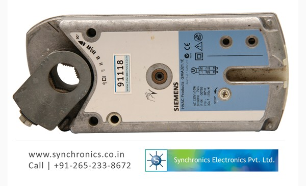 Hvac Gma321 1e Damper Actuator By Siemens Repair At