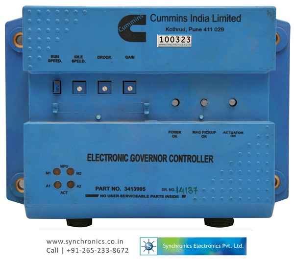 Electronic Control Panel 4083935 By CUMMINS Repair at Synchronics