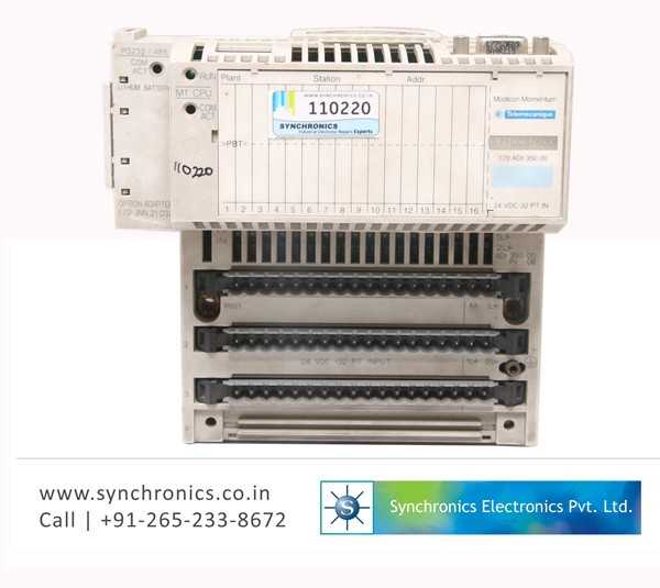 MODICON TSX Momentum 170ADI35000 I/O Base