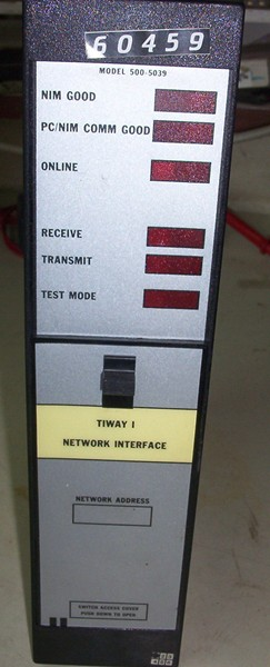 NETWORK INTERFACE MODEL 500-5039