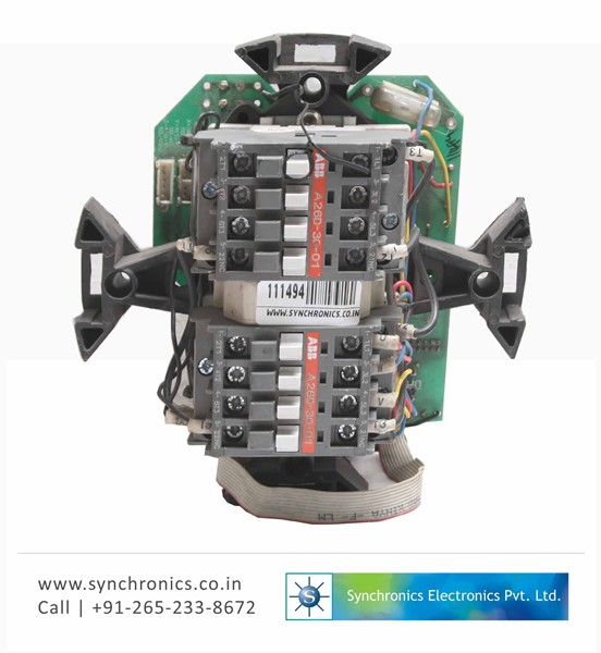 Motor Operated Valves Power Supply Card By Autork Repair At Synchronics Electronics Pvt Ltd