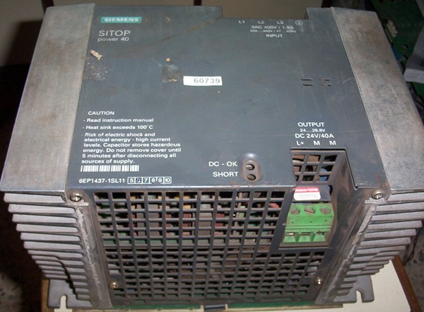 SITOP Power Supply 24V/40A 6EP1437-1SL11