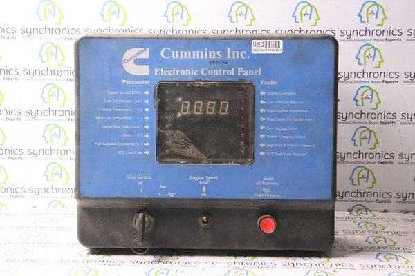 electronic control panel 4083935 by cummins repair at synchronics electronic control panel 4083935