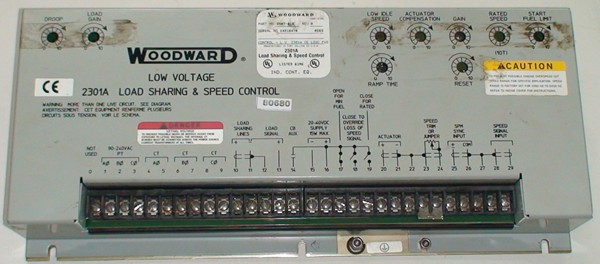 2301 Load Sharing & speed Control