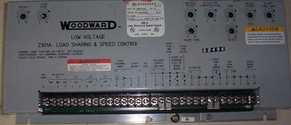 load sharing speed control 2301 by woodward repair at synchronics rh synchronics co in woodward 2301a speed control manual en español Woodward 723 Manual